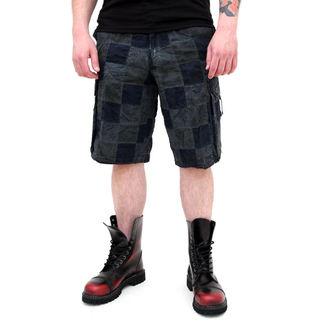 kratke hlače moški SURPLUS - Checkboard - MODRA - 05-5650-10