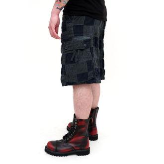 kratke hlače moški SURPLUS - Checkboard - MODRA, SURPLUS