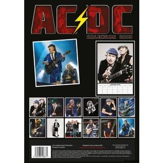 Koledar za leto 2019 - AC / DC, NNM, AC-DC