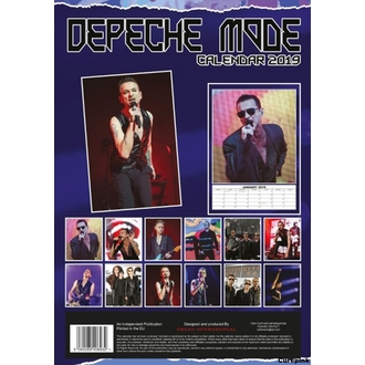 Koledar za leto 2019 - Depeche Mode, NNM, Depeche Mode
