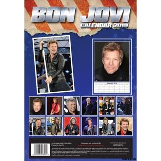 Koledar za leto 2019 - Bon Jovi, NNM, Bon Jovi