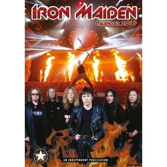 Koledar za leto 2019 - Iron Maiden, NNM, Iron Maiden