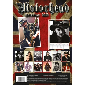 Koledar za leto 2019 - Motorhead, NNM, Motörhead