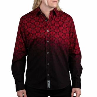 Moška srajca z dolgimi rokavi WORNSTAR - Amaryllis - Ruby, WORNSTAR