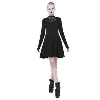 Ženska obleka PUNK RAVE - Shiva - črna Gotika, PUNK RAVE