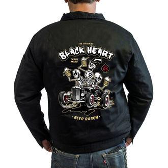 Jakna pomlad / jesen - BEER BARON - BLACK HEART, BLACK HEART