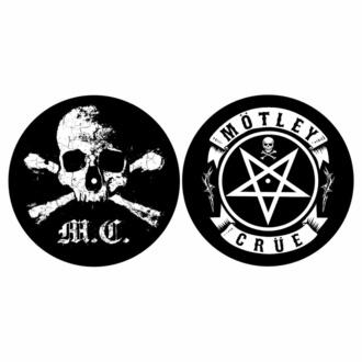 Blazinica za gramofon (set 2 kos) Mötley Crüe - SKULL & PENTAGRAM - RAZAMATAZ, RAZAMATAZ, Mötley Crüe