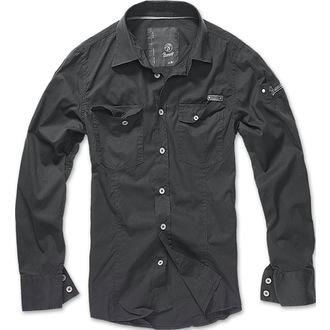majica moški BRANDIT - Men Shirt Slim - Črno, BRANDIT