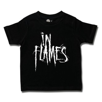 Otroška metal Majica In Flames - Logo - Metal-Kids, Metal-Kids, In Flames