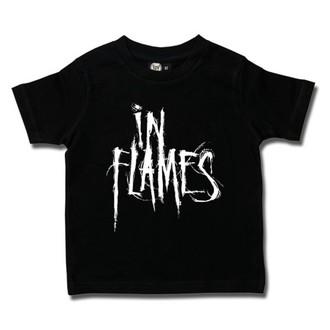 Otroška metal Majica In Flames - Logo - Metal-Kids, Metal-Kids, In Flames