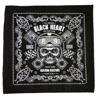 Ruta BLACK HEART - PISTON SKULL, BLACK HEART