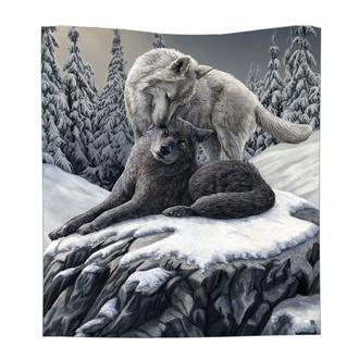 Odeja Snow Kisses Throw, NNM
