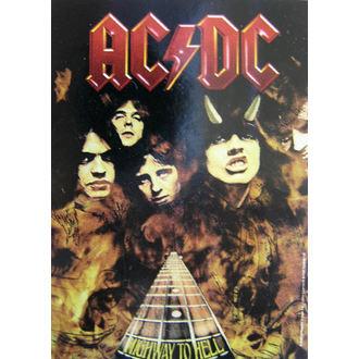 Zastava AC-DC 'Highway To Hell' HFL 746, HEART ROCK, AC-DC