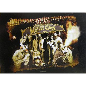 zastava Mötley Crue - Festival Circus, HEART ROCK, Mötley Crüe