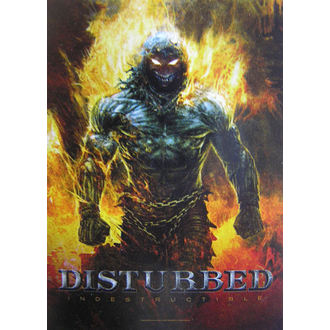 Zastava Disturbed 'Indestructible' HFL 1022, HEART ROCK, Disturbed