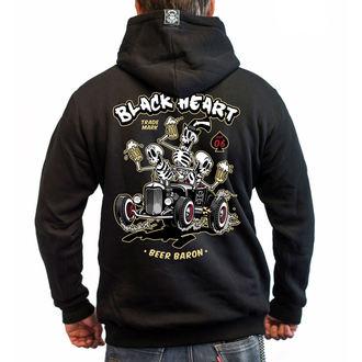 Moška Jopa s kapuco - BEER BARON - BLACK HEART, BLACK HEART