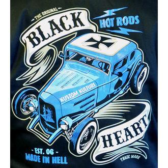 Moška Jopa s kapuco - BRUISER - BLACK HEART, BLACK HEART