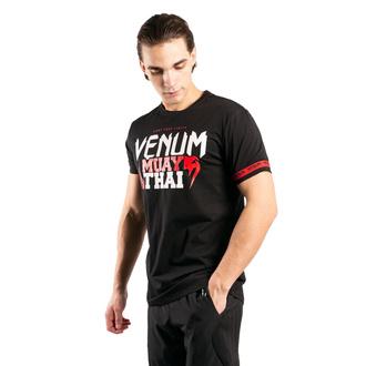 Moška majica Venum - MUAY THAI Classic 20 - Črna / Rdeča, VENUM