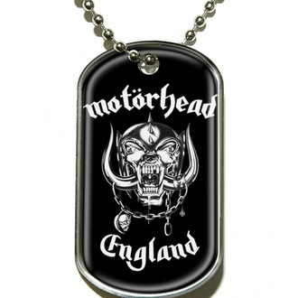 ovratnik 'pes oznaka' Motörhead 'Anglija', RAZAMATAZ, Motörhead