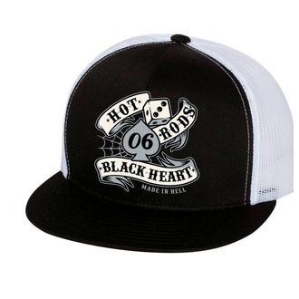 Kapa BLACK HEART - LOLA - Bela, BLACK HEART