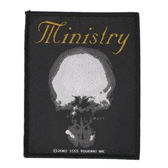 Našitek Ministry - The Mind Is A Terrible Thing To Taste - RAZAMATAZ, RAZAMATAZ, Ministry