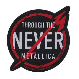 Našitek Metallica - Through The Never - RAZAMATAZ, RAZAMATAZ, Metallica