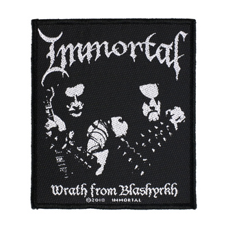 Našitek Immortal - Wrath Of Blashyrkh - RAZAMATAZ, RAZAMATAZ, Immortal