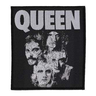 Našitek Queen - Faces - RAZAMATAZ, RAZAMATAZ, Queen