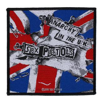 Našitek Sex Pistols - Anarchy In The UK. - RAZAMATAZ, RAZAMATAZ, Sex Pistols