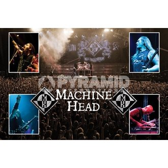 plakat Machine Head (V živo) - PYRAMID POSTERS, PYRAMID POSTERS, Machine Head