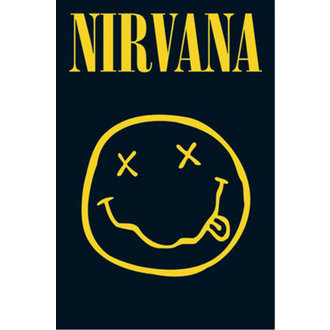 Plakat - Nirvana - Smiley - LP1416, GB posters, Nirvana