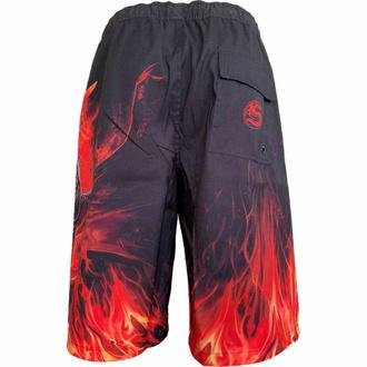 Moške kratke hlače (kopalke) SPIRAL - DRACONIS - Črna, SPIRAL