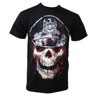majica kovinski moški Slayer - Skull Hat - ROCK OFF - SLAYTEE01MB
