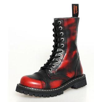 usnje čevlji - - KMM - Red/Black-100