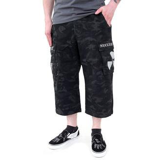 kratke hlače moški Črno Kamuflaž - NUCLEAR BLAST, NUCLEAR BLAST