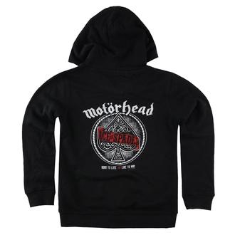 Otroški hoodie Motörhead - (Red Banner) - Metal-Kids, Metal-Kids, Motörhead
