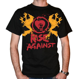 majica kovinski moški Rise Against - Fist Crest - KINGS ROAD, KINGS ROAD, Rise Against