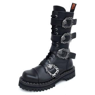 čevlji KMM 14Eyelet - Big Skulls Black Monster 4P, KMM