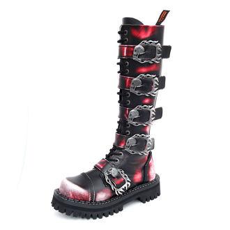 čevlji KMM 20 očesce - Big Skulls Black Red White Monster 5P - 205