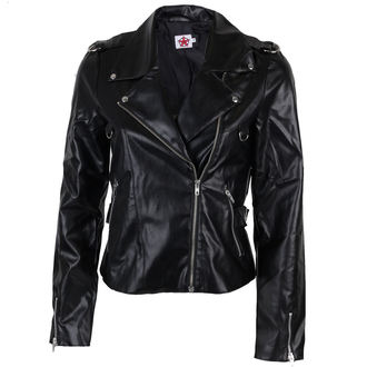 usnje jakno ženske - Biker Jacket Sky Black - BLACK PISTOL, BLACK PISTOL