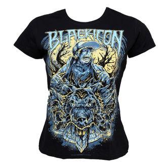 majica hardcore ženske - Wolf Sell - BLACK ICON, BLACK ICON