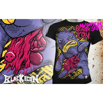 majica hardcore ženske - Bigmo - BLACK ICON, BLACK ICON