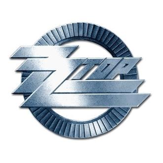 prijemalke ZZ Top - Logotip kroga - ROCK OFF, ROCK OFF, ZZ-Top