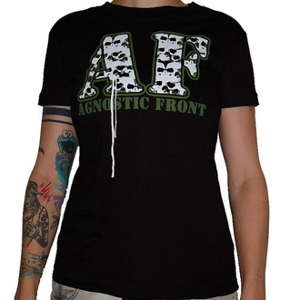 Metal majica ženske Agnostic Front - Skulls - RAGEWEAR, RAGEWEAR, Agnostic Front