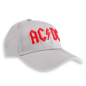 Kapa AC / DC - Red Logo Grey - ROCK OFF, ROCK OFF, AC-DC