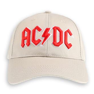 Kapa AC / DC - Rdeč Logo - ROCK OFF, ROCK OFF, AC-DC