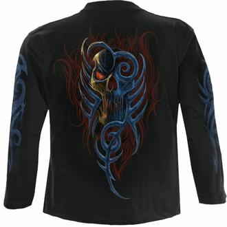 Moška majica z dolgimi rokavi SPIRAL - OBLIVION - Črna, SPIRAL