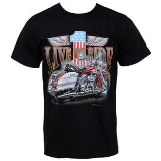 majica moški - Live To Ride - Hero Buff, Hero Buff