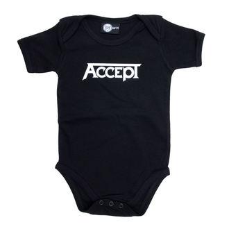 Otroški Bodii Accept - Logo - Črno, Metal-Kids, Accept