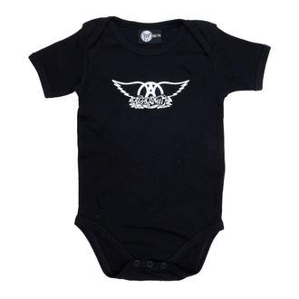 točke otroci Aerosmith - Logo - Črno, Metal-Kids, Aerosmith